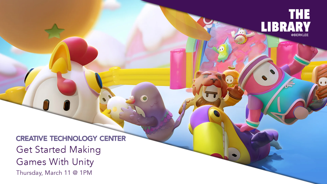 """The CTC Presents """"Get Started Making Games with Unity"""" Virtual Workshop"""