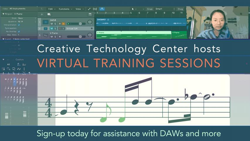 Creative Technology Center hosts Virtual Training Session