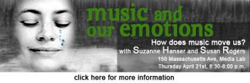Music and Our Emotions with Susan Rogers and Suzanne Hanser
