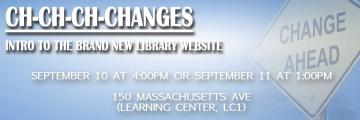 Ch-ch-ch-Changes: intro to the brand new library website