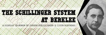 The Schillinger System at Berklee