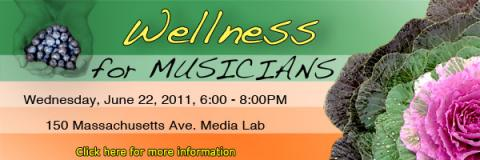 Wellness for musicians