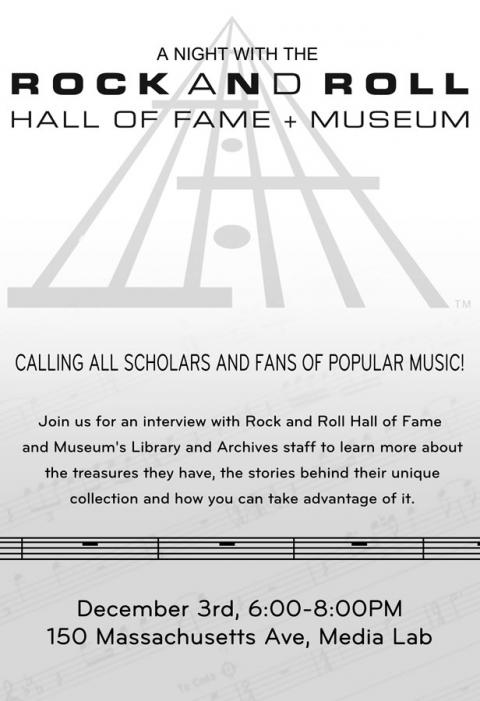 A Night with the Rock Hall of Fame and Museum