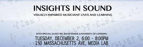 Insights in Sound with Dr. David Baker