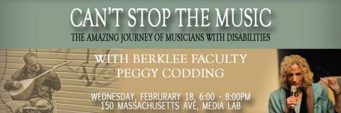 Can't Stop the Music: The Amazing Journey of Musicians with Disabilities with Peggy Codding