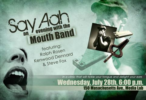 Say Aah: an evening with the Mouth Band