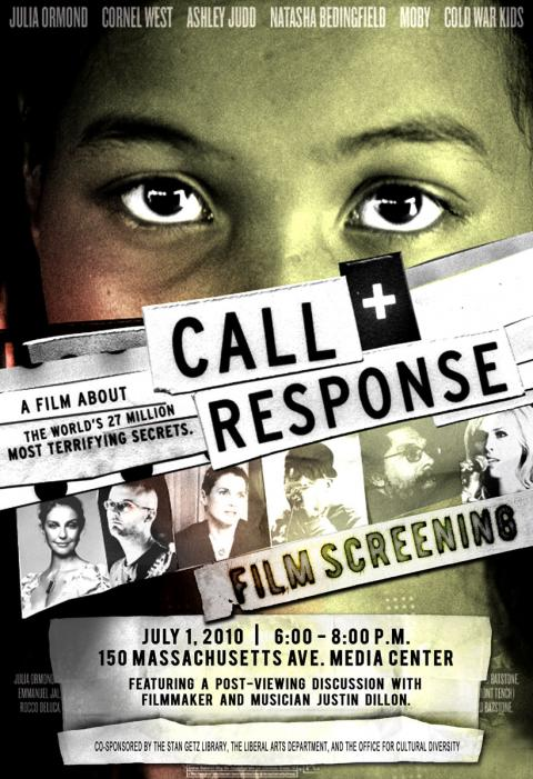 Call and Response with special guest, filmmaker and musician Justin Dillon